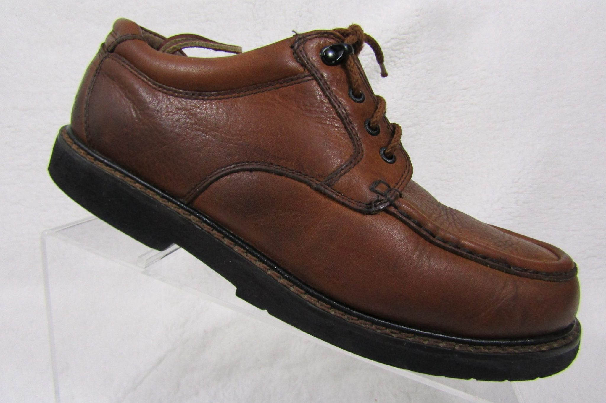 10bae8fa74 Dockers Sz. 9M Men s Brown Leather Comfort Oxfords w  Stain Defender ...